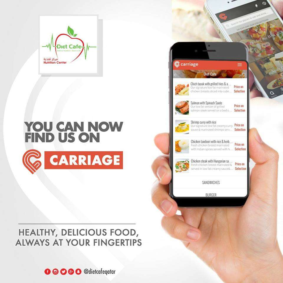 You Can Order Our Delicious And Healthy Meals On Carriage Now