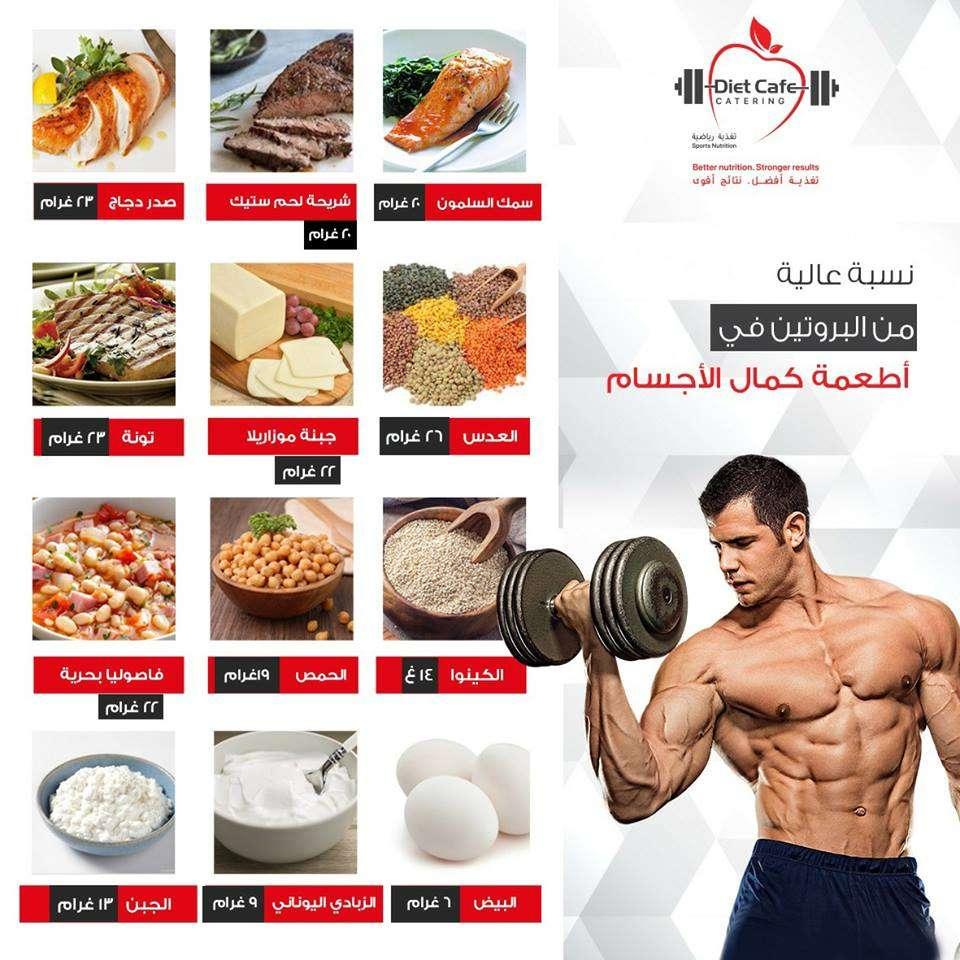وجبات غذائية ذات نسبة عالية من البروتين