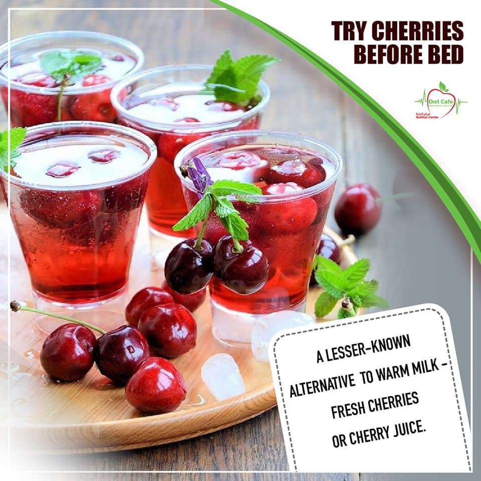 Try Cherries Before Bed