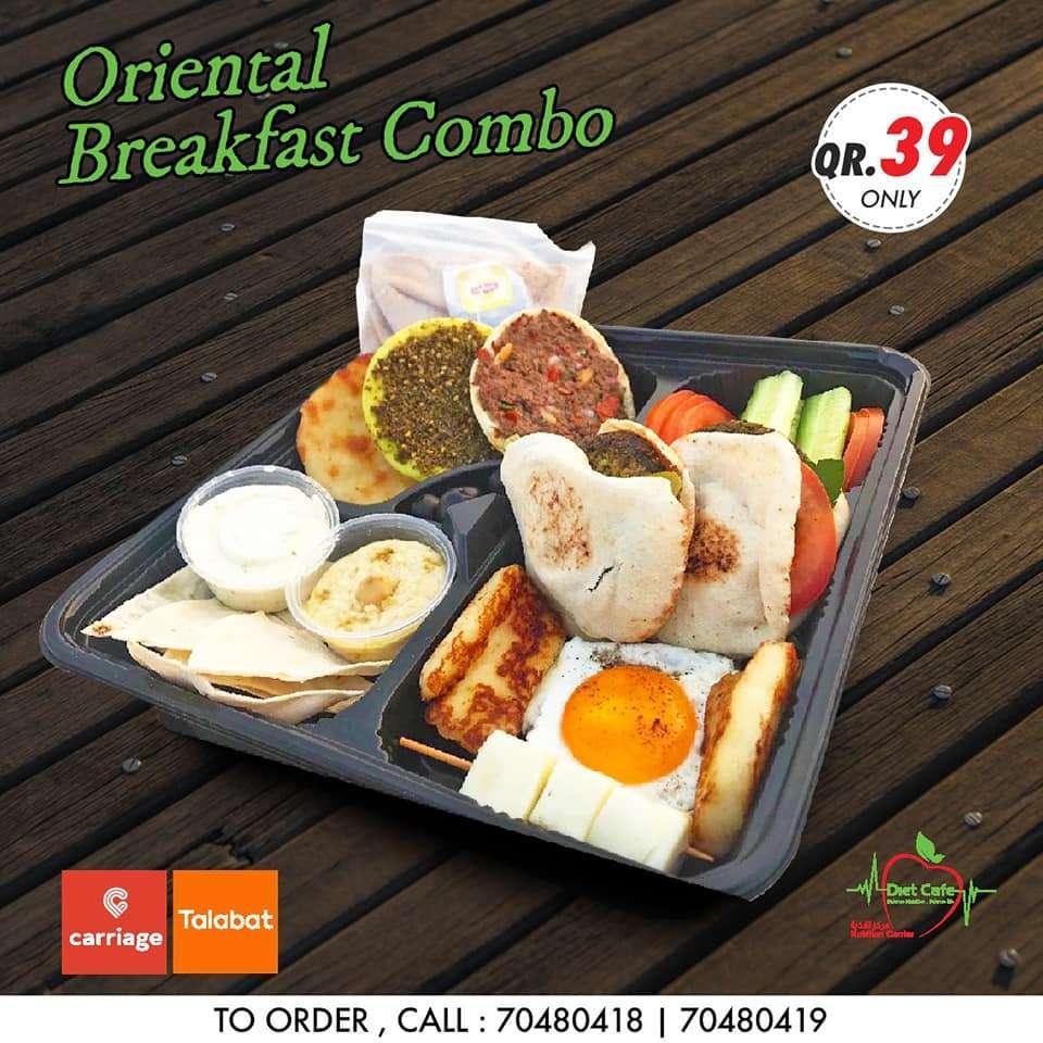 oriental breakfast combo