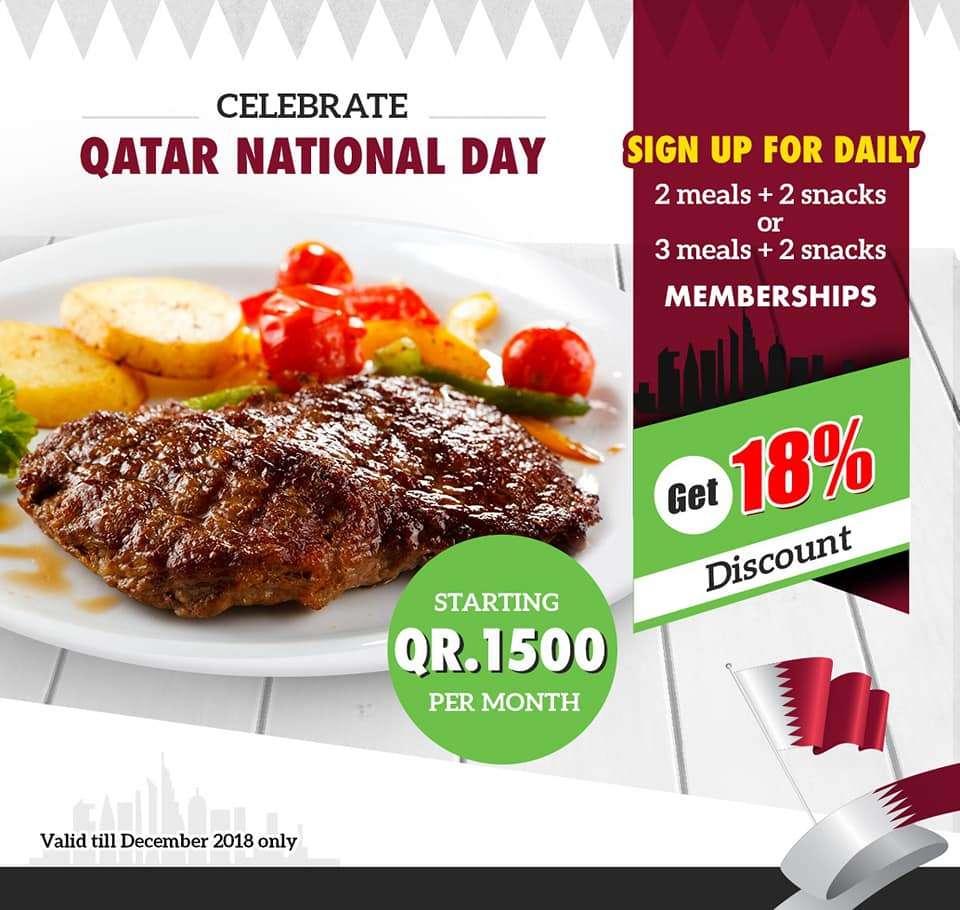 Celebrating Qatar National Day