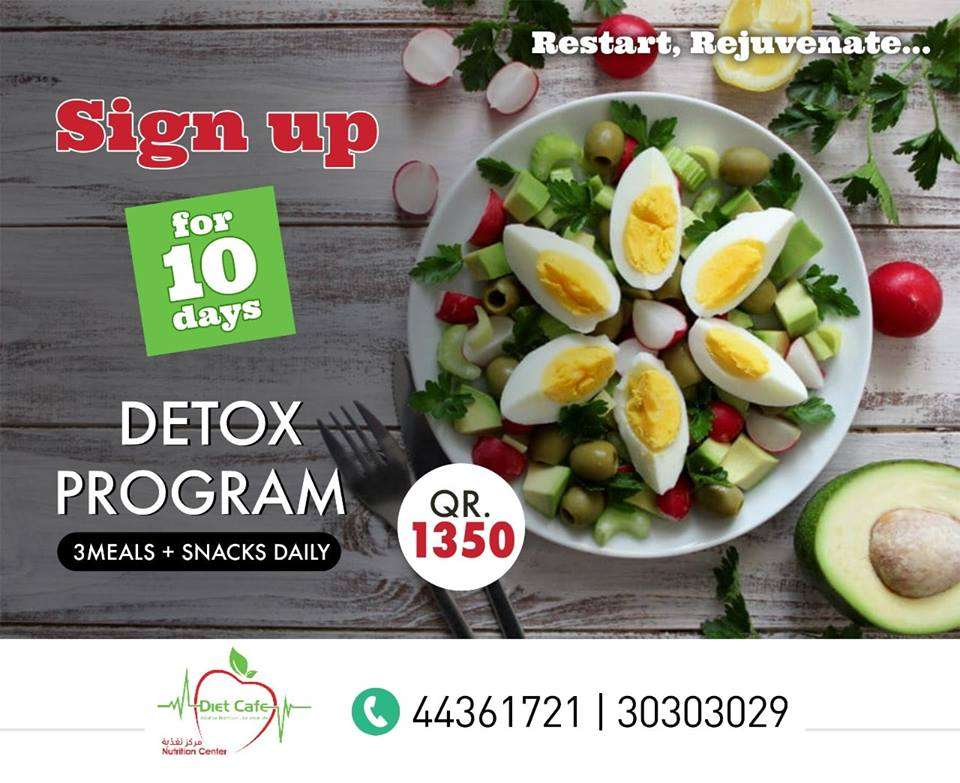 Detox prog so you can start fresh again