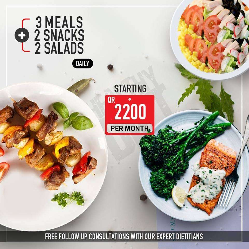 Stay fit, eat fresh and healthy in 2019