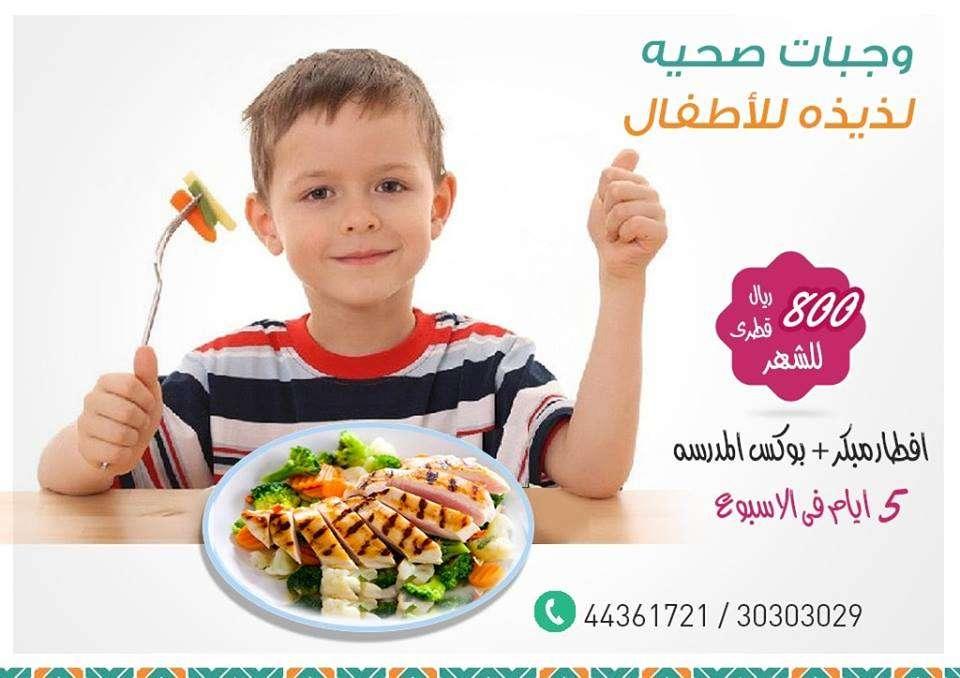 خطه برنامج الوجبات الصحيه للأطفال